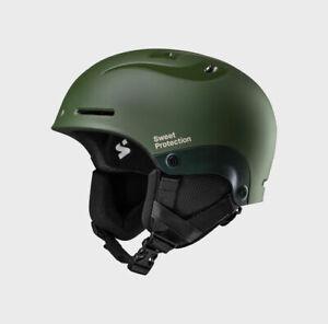 Sweet Protection Blaster II Snow Helmet Olive  Medium  Large M/L