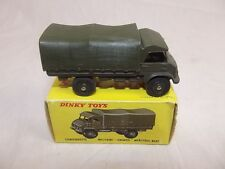 Boxed French Dinky Toys 821 Camionnette Militaire Unimog Mercedes-Benz