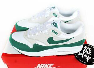 Nike Air Max 1 Anniversary Evergreen Aura Green Grey UK 5 7 8 12 13 US New