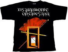 DISHARMONIC ORCHESTRA - PS Split LP Cover - T-Shirt - Größe Size S - Neu