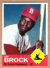 Lou Brock '67 St Louis Cardinals Monarch Corona Diamond Collection #24