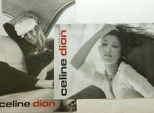 "Celine Dion ""One Heart"" 2-Sided U.S. Promo Album Poster - Pop Music Legend!"