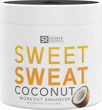 SWEET SWEAT COCONUT 13.5 oz Jar  Workout Enhancer Cream