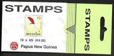 PAPUA NEW GUINEA. 1993, k4.50c  BOOKLET, BIRD. MNH, COMPLETE