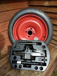 RENAULT CAPTUR CLIO SPACE SAVER SPARE WHEEL KIT Tyre 125 70 16 NEW 🆕 #1210