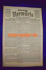 VORWÄRTS (19. April 1920): Der Streik in Oberschlesien