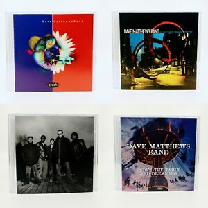 4 CD Lot | Dave Matthews Band | Crash-Everyday-Before These Crowded... + *MINT*