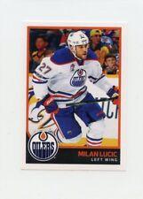 17/18 PANINI NHL STICKER #329 MILAN LUCIC OILERS *40654