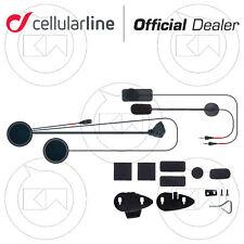 KIT AUDIO RICAMBIO MICROFONO AURICOLARI CELLULARLINE INTERPHONE F3 F4 MC-XT F5/S
