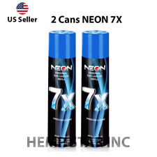 2 Cans Neon Butane Gas 300ml 7x Refined Filtered Lighter Refill Fuel