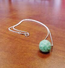 Green Jadeite Carved Good Fortune Pendant, Green Jade Necklace Pendant