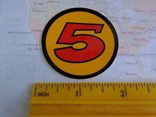 Collectible BEER STICKER ~<>~ BEAR REPUBLIC Racer 5 IPA ~ Healdsburg, CALIFORNIA