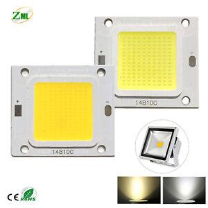 10W 20W 30W 50W 70W 100W LED Chip COB High Power SMD White Fit Floodlight DIY