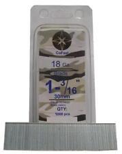 CoFast 18 Ga 1-3/16 inch Straight Finish Brad Nails fit Most 18 Ga Nailers 1M