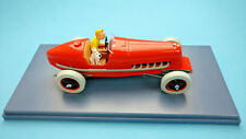 Rare Car Tintin Bolide Rouge 1/24  New & no box Collection