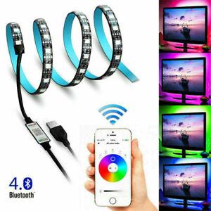 WiFi LED TV Band USB Streifen Smart Home APP Lichtleiste RGB dimmbar Stripe DHL