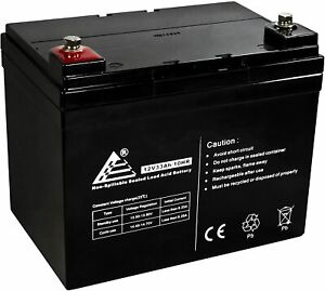 Hillman Electric Golf 12v 33ah Anderson Battery Set with Lead and Charger
