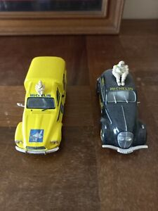 Lot de 2 véhicules Publicitaire Michelin
