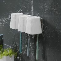 Stainless Steel Toothbrush Holder Bathroom Wall Stand Hook Storage Organizer