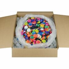 """5000 Empty 1"""" Vending Capsules for Bulk Toys & Candy 1.1"""" Acorn Pods Containers"""