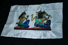 Lotus Goddess Egyptian Polyester Satin Pillow Case