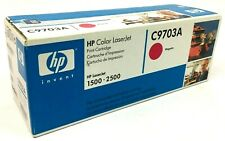 Genuine HP C9703A Magenta Toner Cartridge for HP Color LaserJet 1500 2500