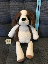 Scentsy Buddy Patch the Dog Brown & White Plush Stuffed Animal No Scent Pak