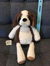 Scentsy Buddy Patch the Dog Brown & White Plush Stuffed Animal No Scent Pak