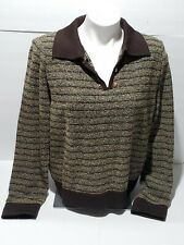 ST JOHN COLLECTION By Marie Gray Sweater Size L Large