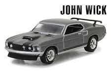 Greenlight Ford Mustang Boss 429 1969 John Wick 44780E 1/64 Scale