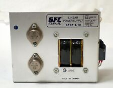 GFC HAMMOND LINEAR POWER SUPPLY GFOF 2-12 INPUT 115 Vac OUTPUT 12Vdc @ 3.4A