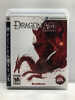 Dragon Age: Origins - PlayStation 3 PS3 - Complete w/ Manual - Tested Working