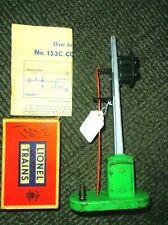 LIONEL No 153 AUTOMATIC BLOCK CONTROL SIGNA+153C CONTACTOR+INSTR. 1945-59