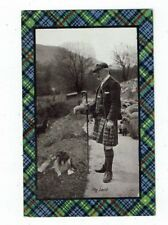 POST CARD SCOTLAND TITLED THE LAIRD