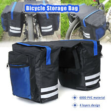 Double Side Pouch Bike Frame Pannier Bag Cycling Bicycle Saddle Bag For Outdoor