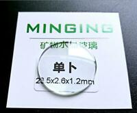 1.2mm Thick Japan Quality Single Dome Mineral Watch Glass 26-40mm Watch Crystal