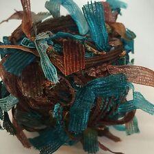 Joy Trendsetter Yarn Flag Component Trim Scarf Hat Wrap Knit Crochet
