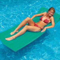 """Swimline SofSkin 74"""" x 26"""" x 1.5"""" Swimming Pool Foam Mattress Float - Teal"""