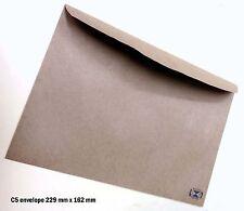 50 Envelopes Kraft Craft Recycled Brown C5