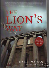 The Lion's Way by Marco Marsan 1st Ed Advance Copy!