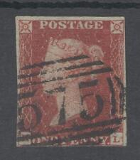 1841 1d RED (HL ) 4 MARGIN ,BLUED PAPER NORWICH  TOWN POSTMARK CAT FROM £800