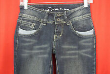 Jane Norman Stretch Gray Black Flare Leg Jeans 8 NWOT!