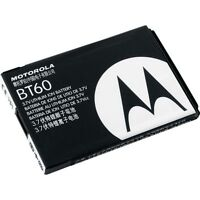🔋 Original MOTOROLA BT60 OEM BATTERY for AT&T Wireless MOTOROLA VA76r TUNDRA