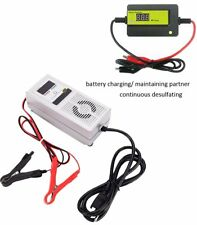 48V 3A Automatic Lead Acid Battery Charger with 4A Battery Desulfator Set
