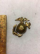 WW2 US Marine Corp Dress EM EGA Hat Badge Original