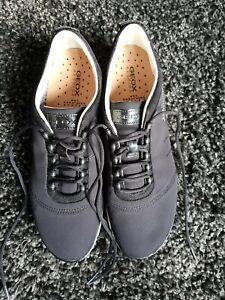Geox Nebula Respira Damen Sneaker Schuhe 40 Schwarz Neuwertig!