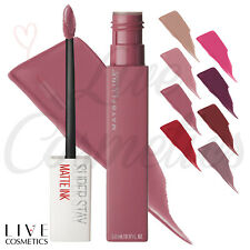 Maybelline SuperStay Matte Ink Liquid Lipstick - NEW SEALED *Choose Your Shade*