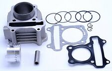 80cc Scooter Cylinder and  Piston Set 47mm 139QMB 4 stroke Engine 1842