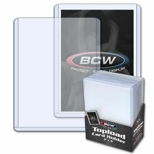 BCW 3x4 Standard Toploader Case (1000) 40 packs Sealed Case Top Loaders