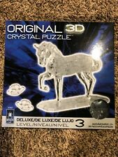 Original 3D Crystal Puzzle Horse
